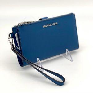 Michael Kors Double Zip Wallet Wristlet